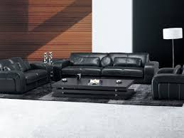 Modern Black Sofa Set Sofa 25 Beautiful Wall Texturing For Living Room Wonderful