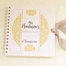 wedding organiser personalised wedding organiser book gifts co