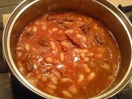 cuisiner haricots blancs secs recette haricots blancs en sauce 750g
