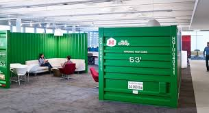 Coolest Office Furniture by Hub Group Recieves Editors Pick For Coolest Office In Chicago