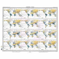 World Map Rainfall by World Map Isohyets By Months Of The Year Rainfall Antique Map