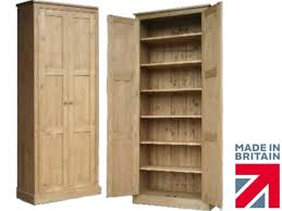 Pine Kitchen Pantry Cabinet Solid Pine Cupboard 6ft 6