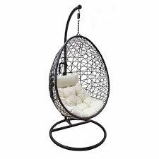 rattan hanging egg chair