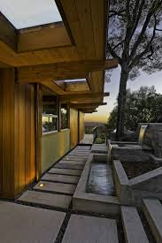 Homes Built Into Hillside Hillside Home Opened Up With A Post And Beam Makeover