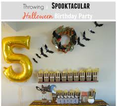 Halloween Birthday Themes by Throwing A Spooktacular Halloween Birthday Party Beauteeful Living