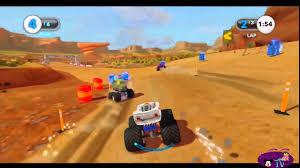 lightning mcqueen monster truck videos cars alive crystal lightning mcqueen monster truck race disney
