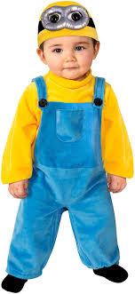 minion costumes rubie s costume co baby boys minion bob romper