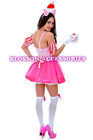 Cupcake Halloween Costumes J89 Katy Perry Sweet Cupcake Cup Cake Candy Spice Birthday Fancy