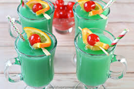 grinch drink shugary sweets