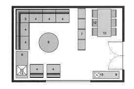 plan salon cuisine sejour salle manger plan salon gratuit 10 plans pour am nager le salon plan salon