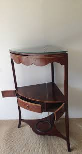 Antique Corner Desk by Antique Mahogany Corner Washstand C 1810 United Kingdom From