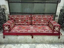 arabisches sofa arabische orientalische sitzecke cover gesetzt phrygien majlis