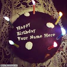 write name on birthday cake for boy friend happy birthday cake