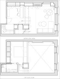 Loft Apartment Floor Plans Before And After This Loft Apartment Was Updated With White