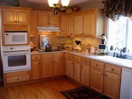Light Oak Kitchen Cabinets Marvelous Kitchen Design Light Wood Cabinets Kutsko For Oak With