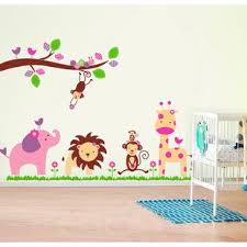 Safari Nursery Wall Decals Jungle Safari Wall Decals You Ll Wayfair