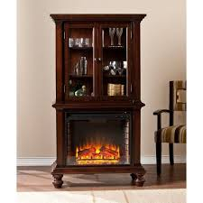southern enterprises china cabinet southern enterprises townsend china cabinet with fireplace in
