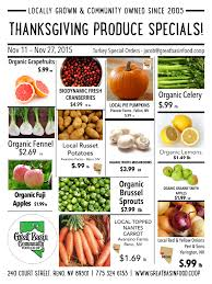 whole foods thanksgiving bi weekly sales great basin community food co op