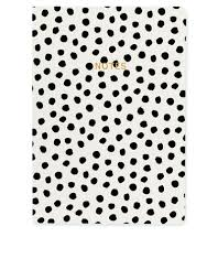 polka dot stationery go stationery monochrome painterly dots a5 notebook notebooks