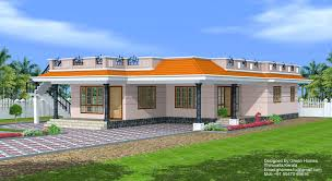 designs of single story homes kerala model house with car porch