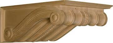 Mission Style Corbels Buenos Aires Beaded Corbel