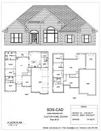 free complete house blueprints home deco plans