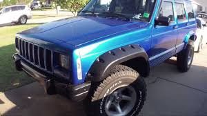 tan jeep cherokee bush wackers jeep cherokee xj 1996 classic youtube