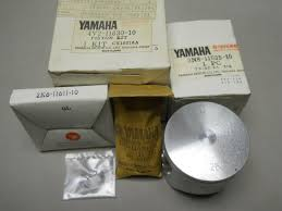 yamaha nos yz125 piston kit 1st o s 0 25 mm over 4v2 11630