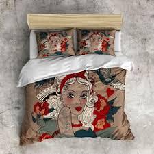 tattoo bedding queen black anajassa comforter set opalhouse target affiliate