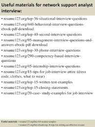 Network Analyst Resume Sample by Top 8 Network Support Analyst Resume Samples