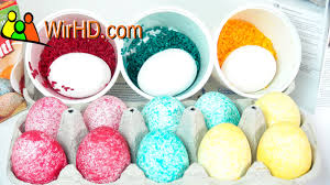 Decorating Easter Eggs With Nail Polish by Easter Eggs Decorating And Coloring With Dye Rice Shake It From