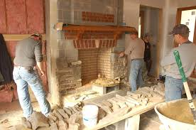 How To Build A Stone by How To Build A Stone Fireplace And Chimney Installing The Cultured