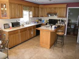 Kitchen Floor Tile Ideas by Kitchen Floor Interior Furniture Kitchen L Shaped Cherry Stained