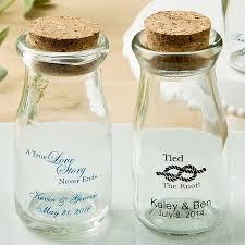 favor jars 3 5 oz custom printed mini milk bottle favor jars w cork lids