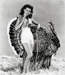 Thanksgiving Pin Up Turkey Vintage Thanksgiving Pinups