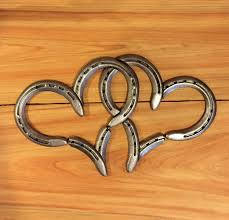 5 ways to get crafty with horseshoes style reins double horse shoe hearts 17 51 at etsy