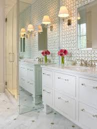 Wallpapered Bathrooms Ideas Wallpapered Bathroom The Suite Life Designs