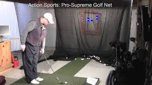 action sports pro supreme golf net youtube
