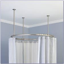Clawfoot Tub Shower Curtain Rod You Can Make Yourself Shower Curtain For Clawfoot Tub Target Curtain Home Design
