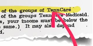 tenncare rejection letters sent to those who didn u0027t apply