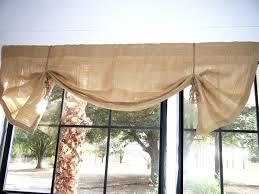 burlap valance that gives your room an extra allure youtube