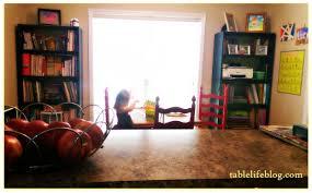 back to homeschool room spotlight tablelifeblog