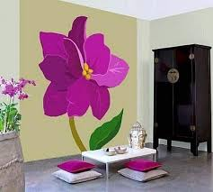 Beautiful Wall Stickers For Room Interior Design 25 Ideas For Spring Decorating With Flowers On Walls