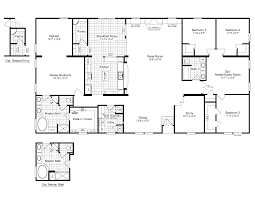 5 Bedroom Mobile Home Floor Plans Decor Remarkable Ranch House Plans With Walkout Basement For Home