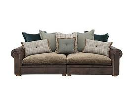 Seater Sofas  Large Sofas Furniture Village - 4 seat leather sofa