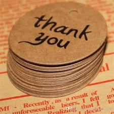 cheapest place to buy wrapping paper thank you kraft paper price hang tags wedding party diy cards