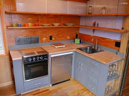 relaxshacks com a great tiny house modern kitchen in