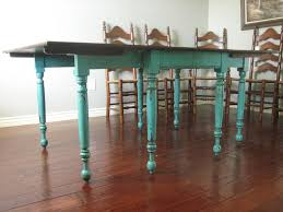 european dining room furniture european paint finishes teal dining table u0026 ladderback chairs