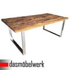 Esszimmertisch Tisch Dasmöbelwerk Tisch Massiv Recycling Holz Antik Look Esstisch