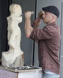 cedar wood sculpture sculpture the world expo